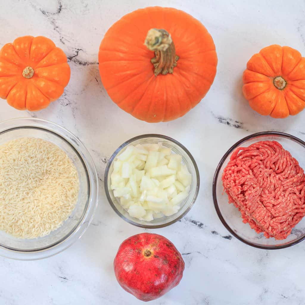 the rest of the pumpkin recipe ingredients